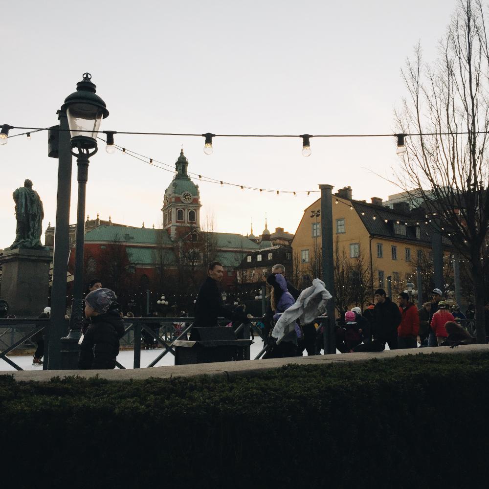 skridskor kungsträdgården