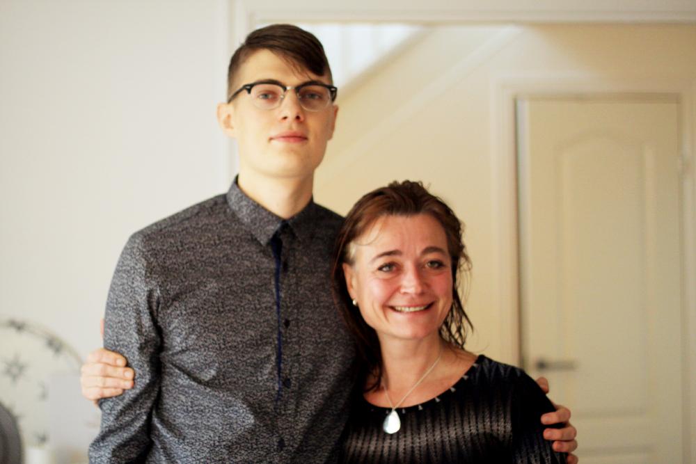johan och mamma