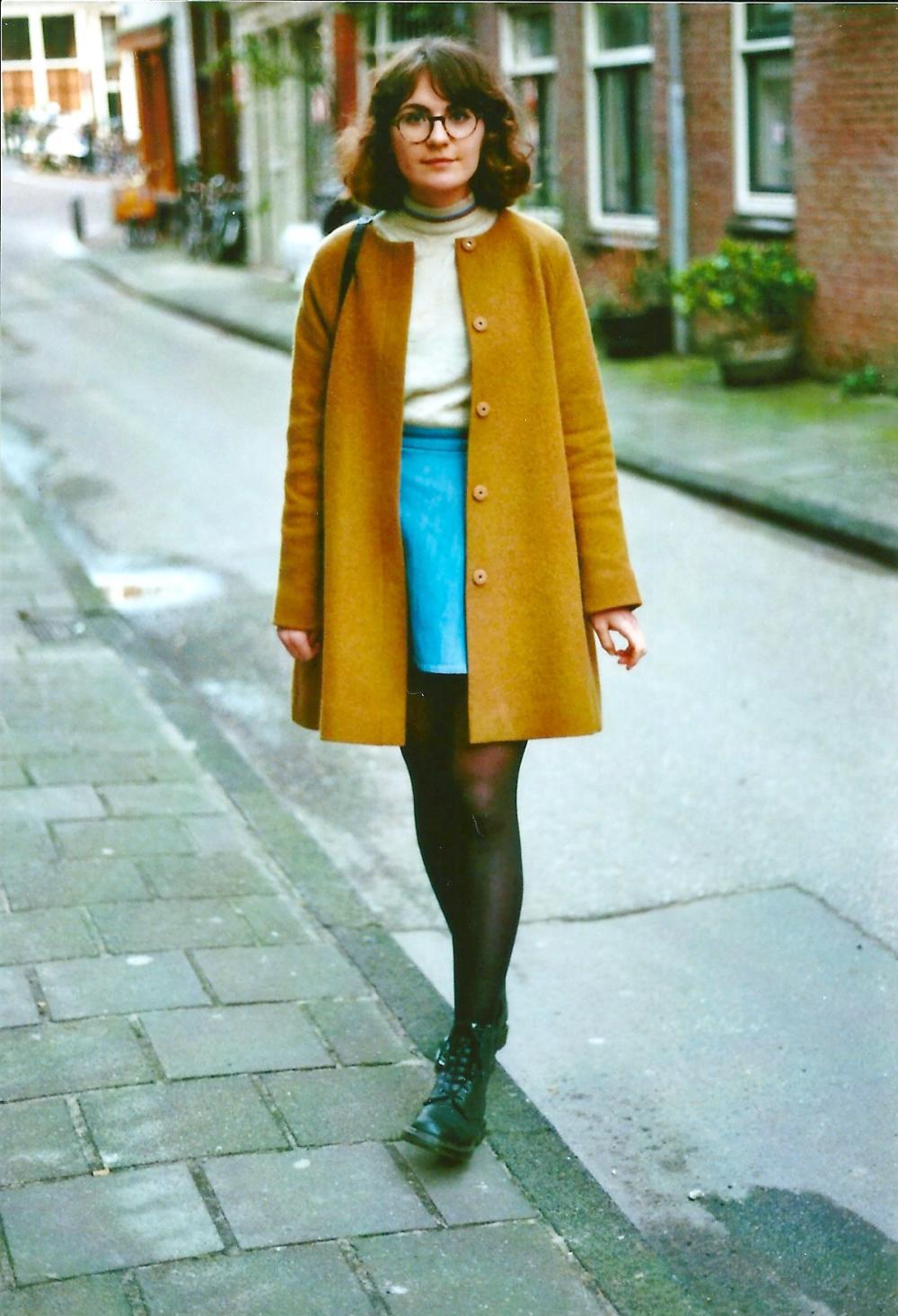en analog klädsel