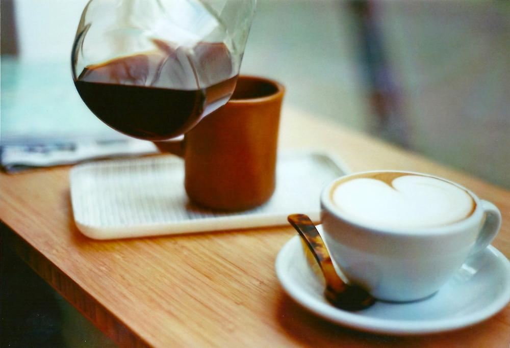 kaffe och johan och lugnet