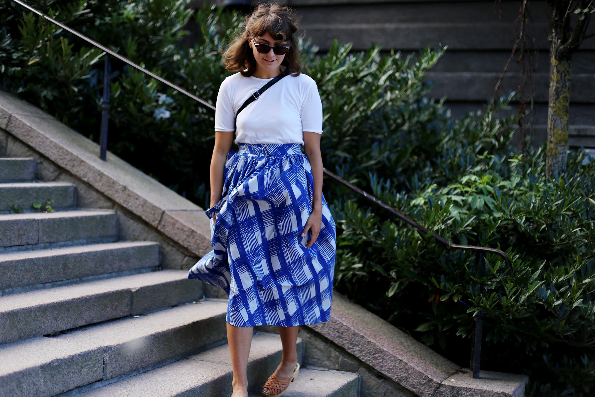 vad jag bar i lördags: Sara Edström Metro Mode